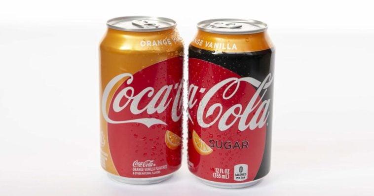Orange Vanilla Coke and the Orange Vanilla Coke Zero Sugar