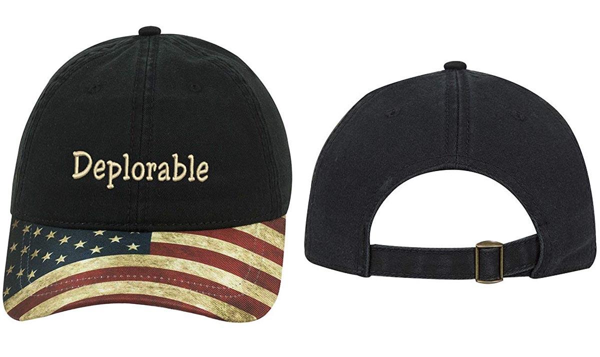 Deplorable American Trump Cap