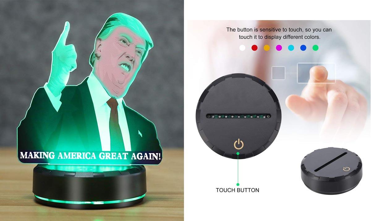 Donald Trump 3D Night Lamp