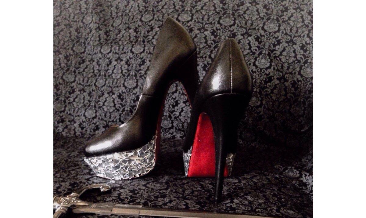 Evil Queen High Heels