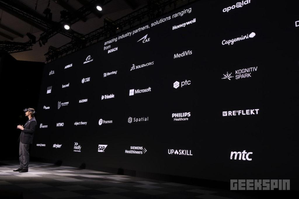 HoloLens 2 partners