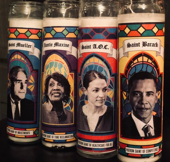 Anti-Trump candles