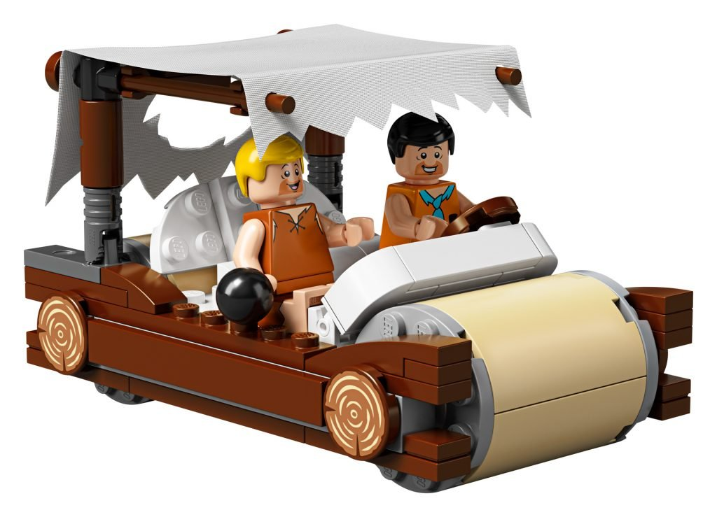 LEGO The Flintstones car