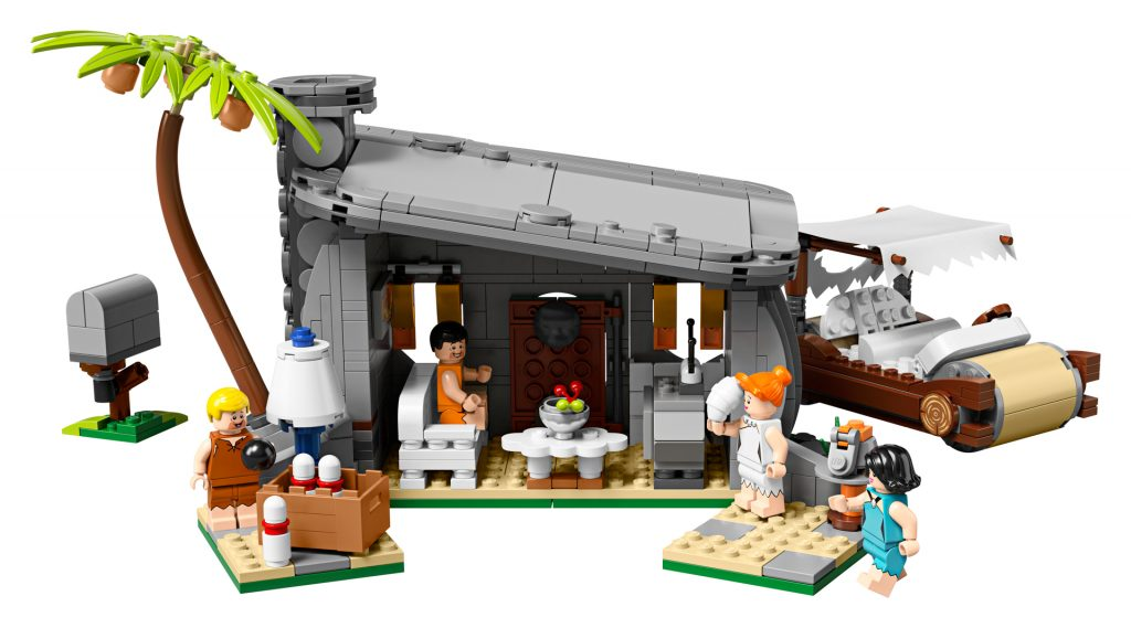LEGO The Flintstones house (interior)