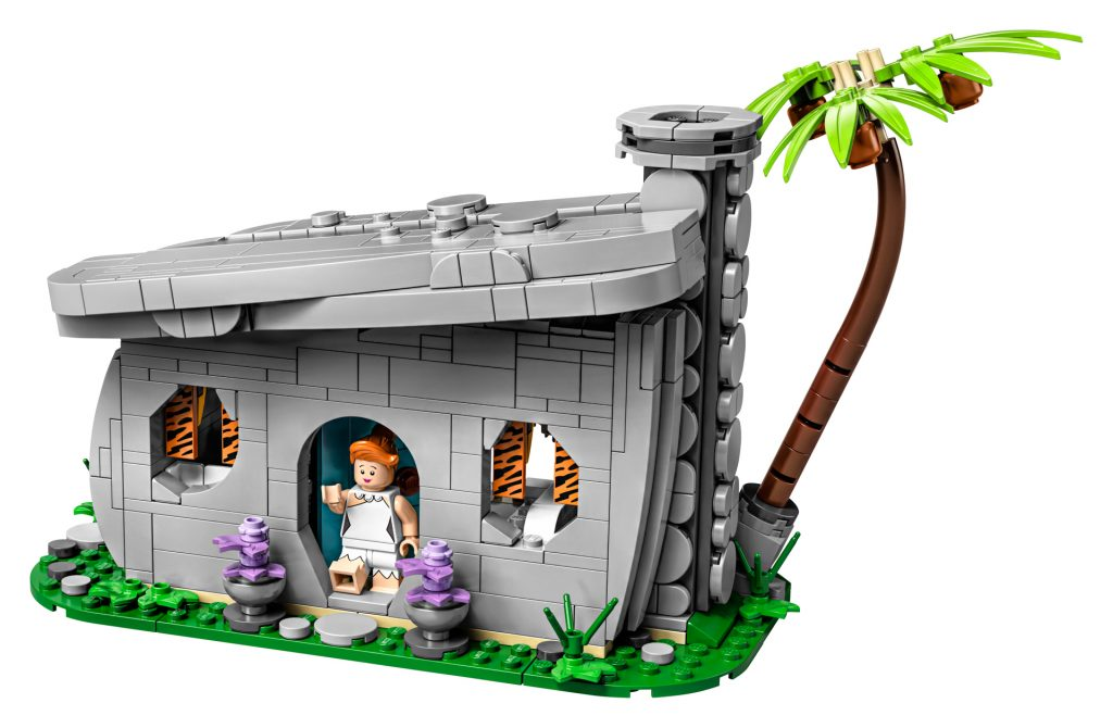LEGO The Flintstones house (exterior)