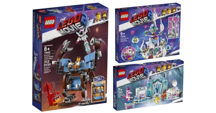 Lego Unveils 3 New Building Sets Inspired By The Lego Movie 2