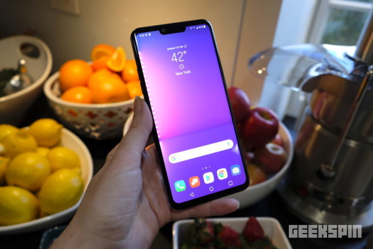 The LG G8 ThinQ uses the blood in your veins to identify you 13