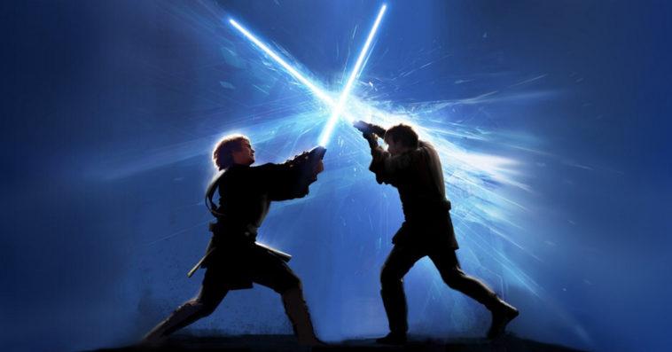 Lightsaber dueling