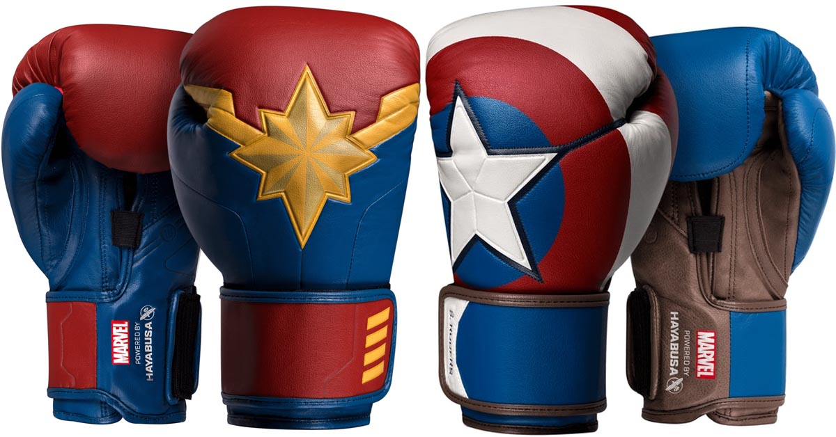 These Marvel-inspired boxing gloves will surely motivate you