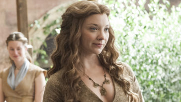 Natalie Dormer as Margaery Tyrell on Game of Thrones