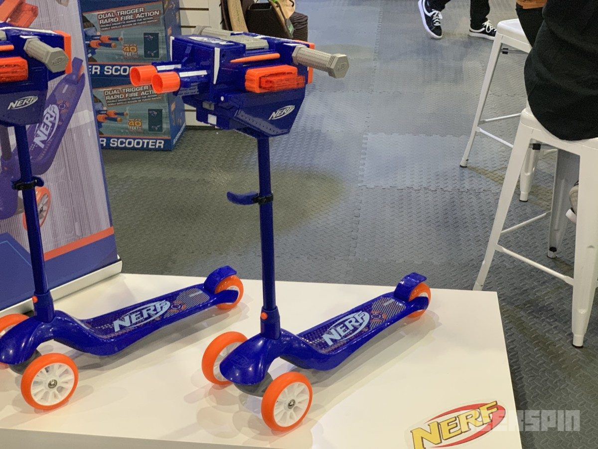 nerf scooter 364x205 - Nerf Blaster kick scooter will make your next Nerf war extra exciting