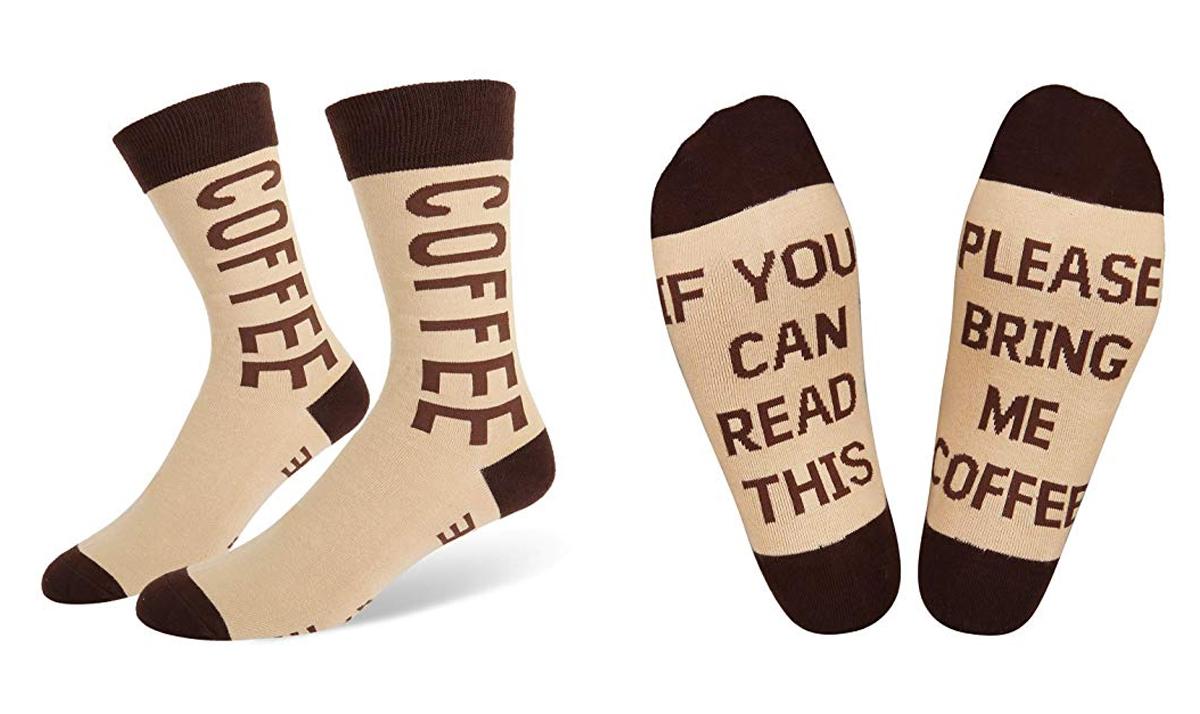 Please Bring Me Coffee Socks