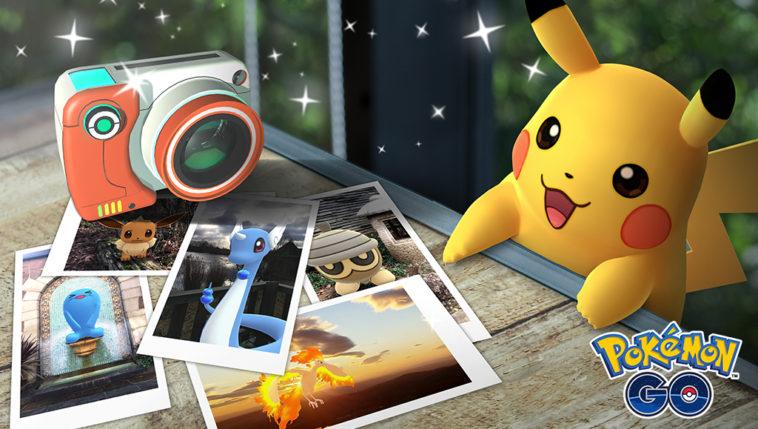Pokémon Go snapshot update lets you pose with Pokémon you've captured 13