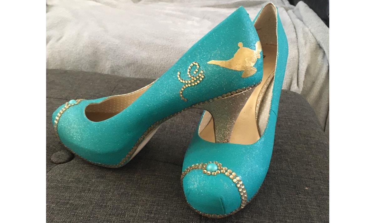 Princess Jasmine High Heels
