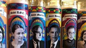 Anti-Trump candles