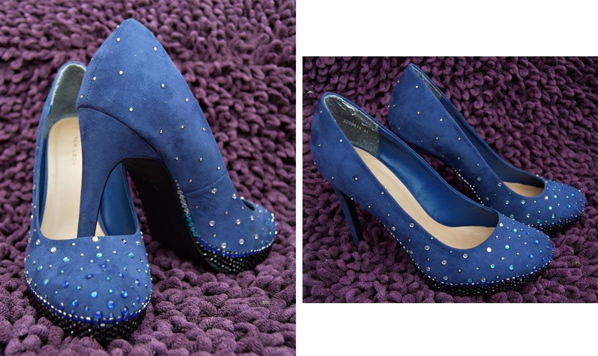 Queen Elsa-Themed Gem High Heels