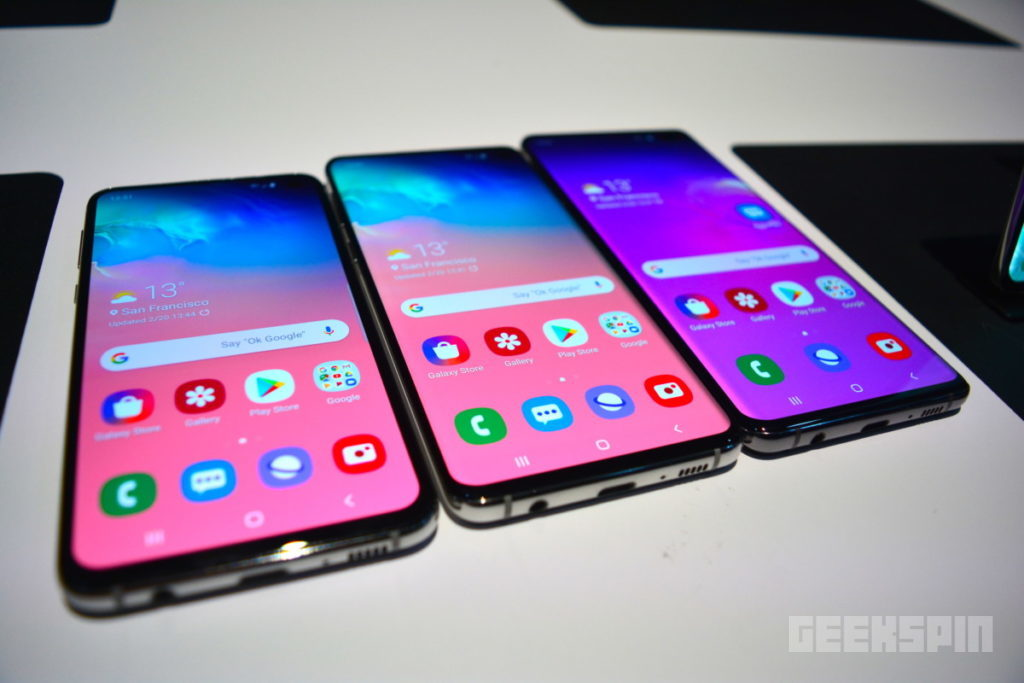 The Samsung Galaxy S10 phones aren't reinventing anything and that's ok 12