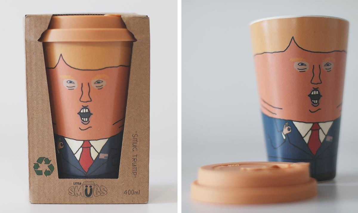 Smug Trump Bamboo Fiber Mug