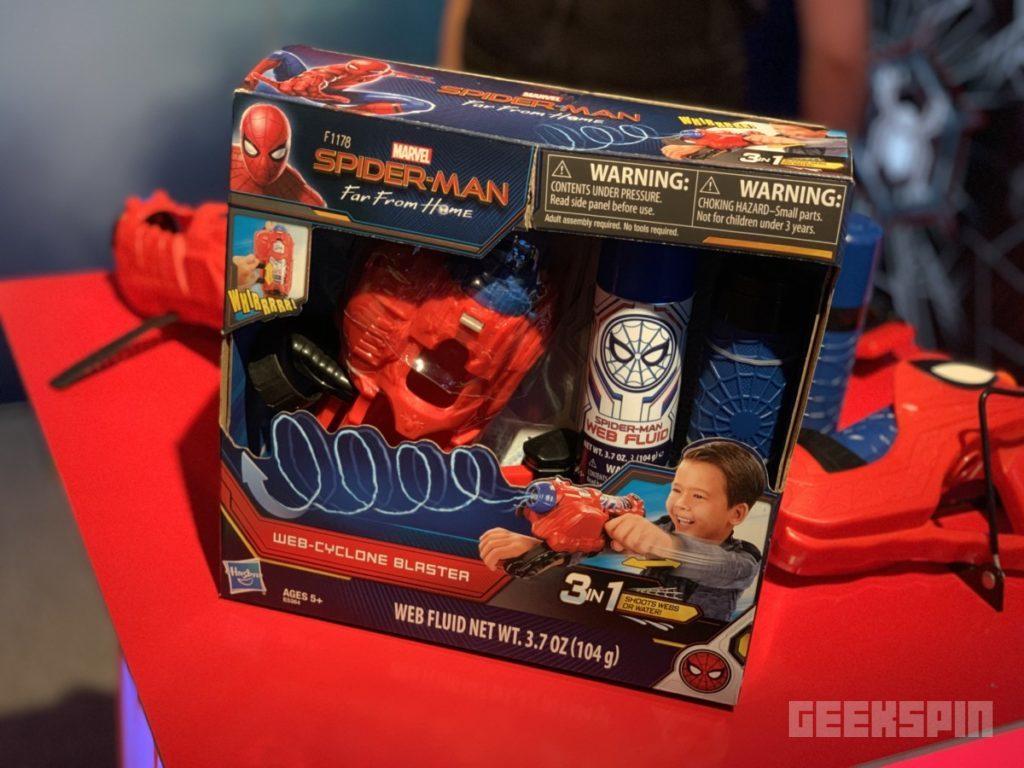 Hasbro Spider-Man Web Cyclone Blaster