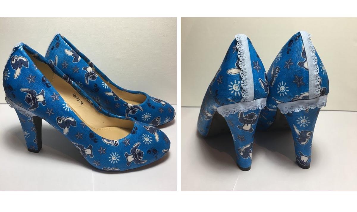 Stitch High Heels