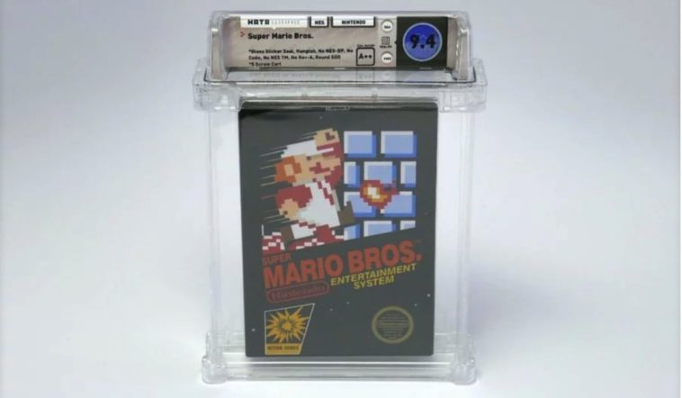 Rare, unopened copy of Super Mario Bros fetches six-figures at auction 12