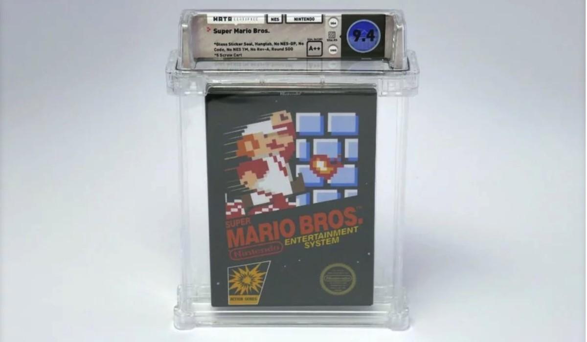 super mario bros nes auction 364x205 - Rare, unopened copy of Super Mario Bros fetches six-figures at auction