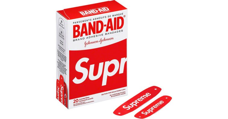 Supreme Band-Aids are coming from Johnson & Johnson 12