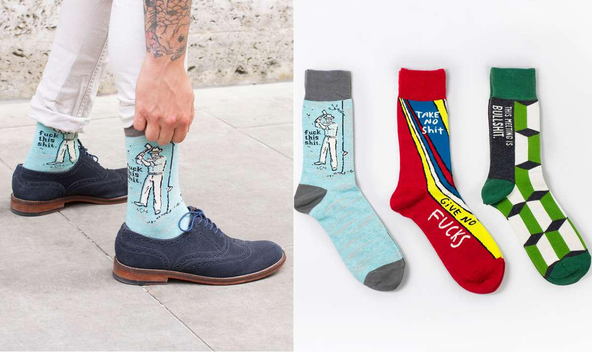 Swear Socks for Men