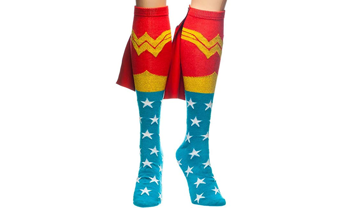 Wonder Woman Cape Sock