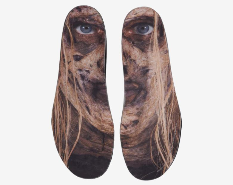 Insoles of The Walking Dead x Puma sneakers