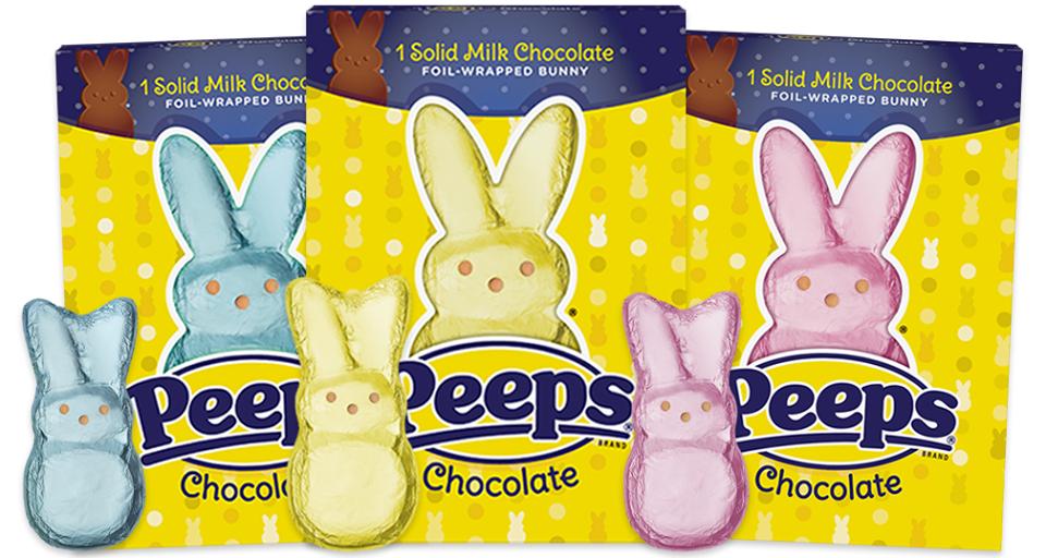 PEEPS® Solid Milk Chocolate Bunny