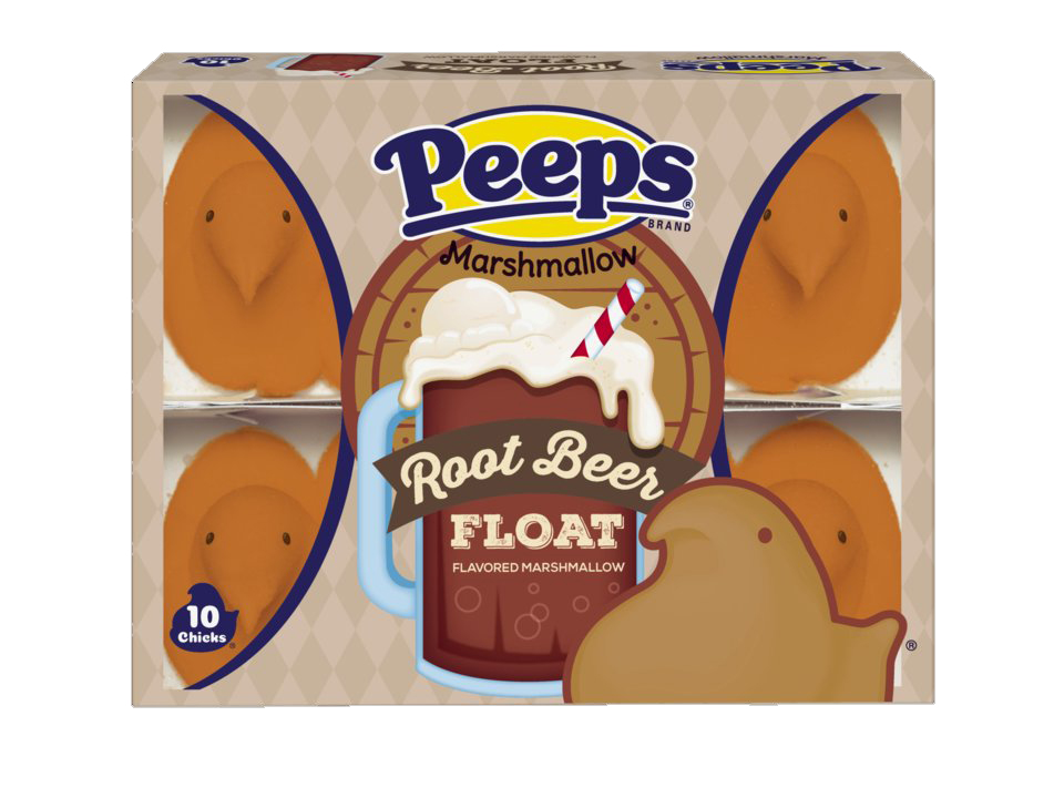 PEEPS® Root Beer Float Flavored Marshmallow Chicks