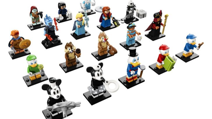 "LEGO""s new Disney minifigure collection"