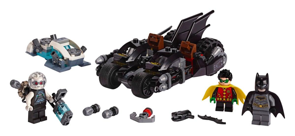 LEGO Batman Mr. Freeze Batcycle Battle playset