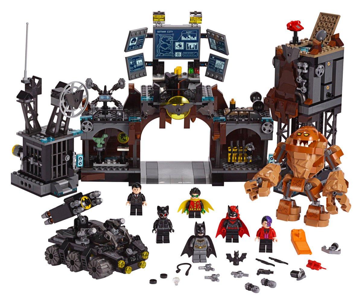 LEGO Batman Batcave Clayface Invasion playset