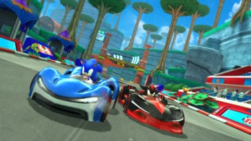 Sonic Racing on Apple Arcade