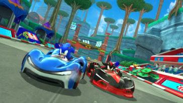 Sonic Racing on Apple Arcade