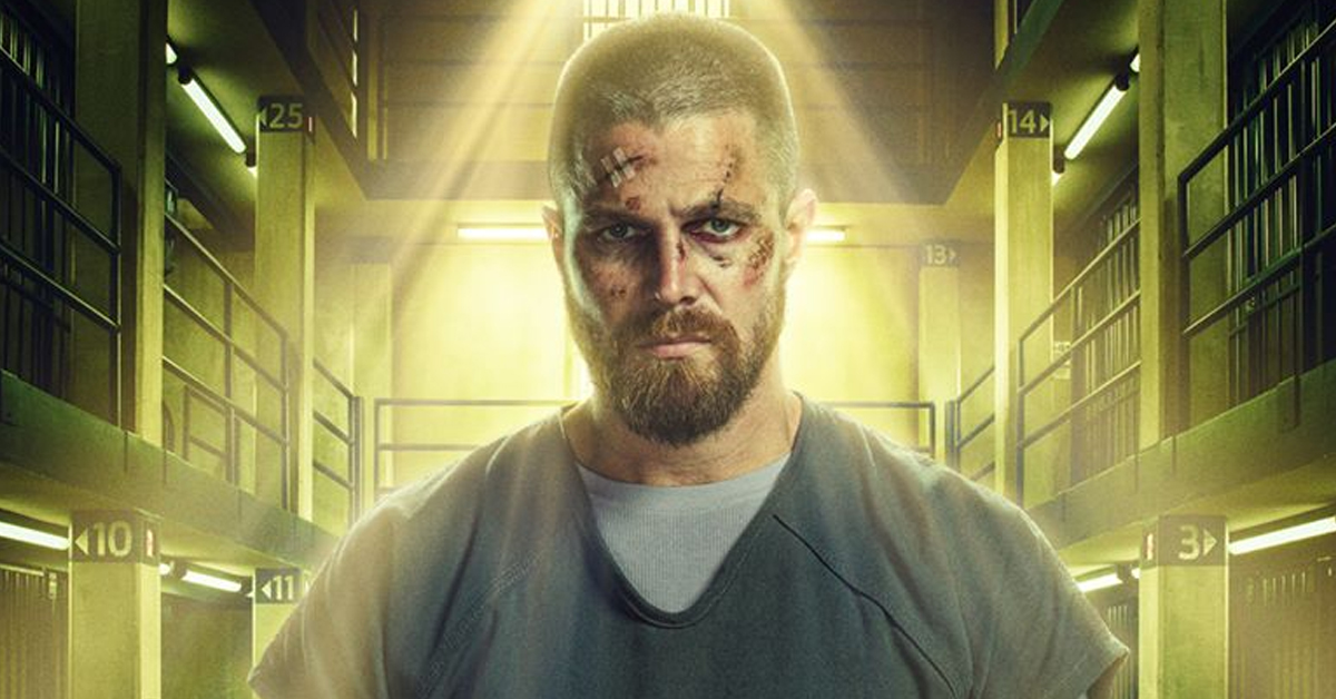 Stephen Amell as Oliver Queen in The CW's Arrow