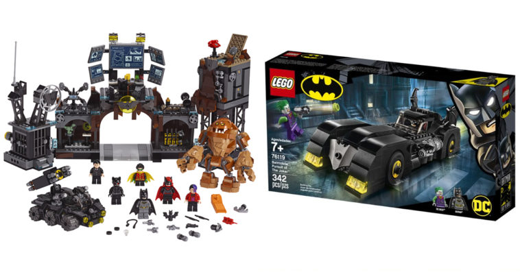 Lego Unveils 6 New Batman Sets Featuring Batmobile Batwing Other Vehicles