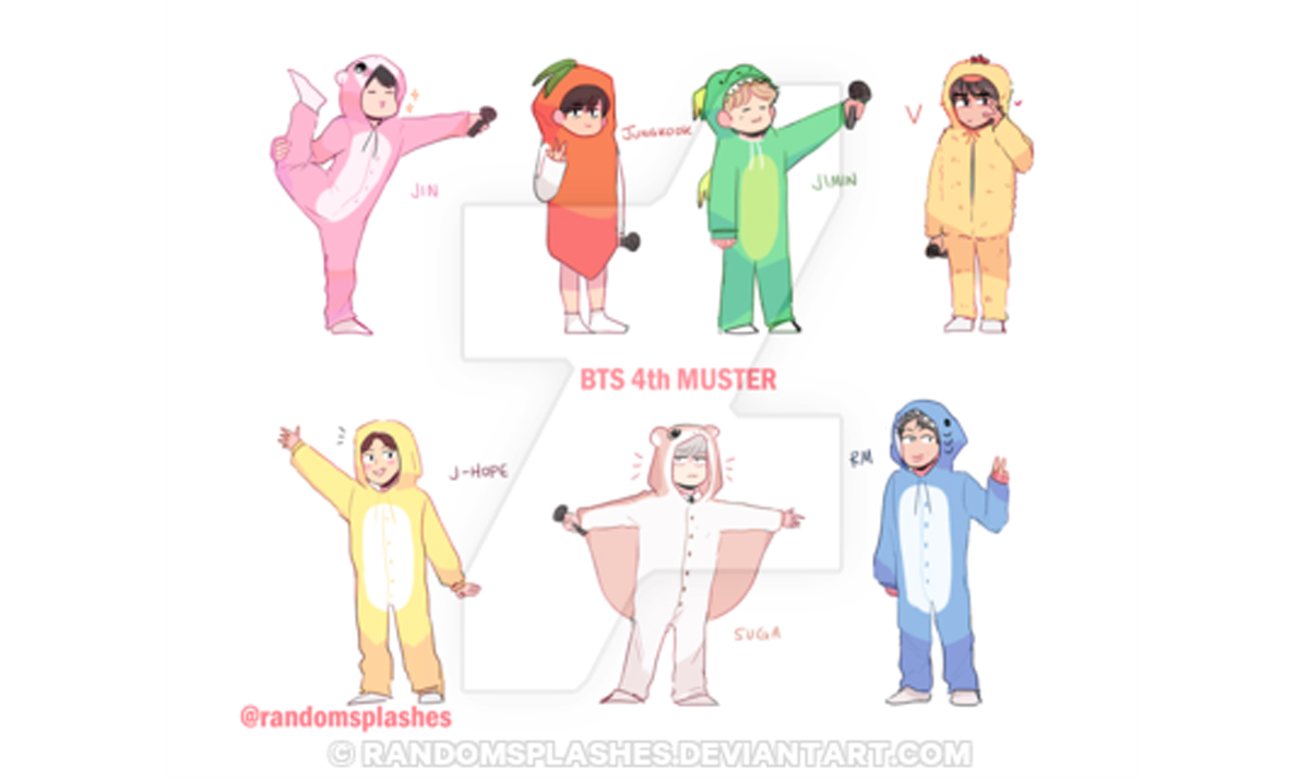 bts in cute onesies - The BTS boys like you've never seen them before