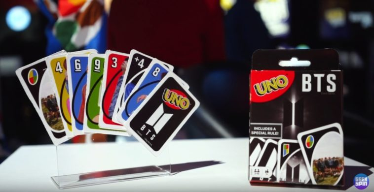 Mattel previews its BTS fashion dolls and UNO card game 14