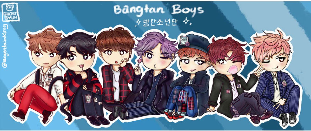 chibi bts chilling out e1553631478128 - The BTS boys like you've never seen them before