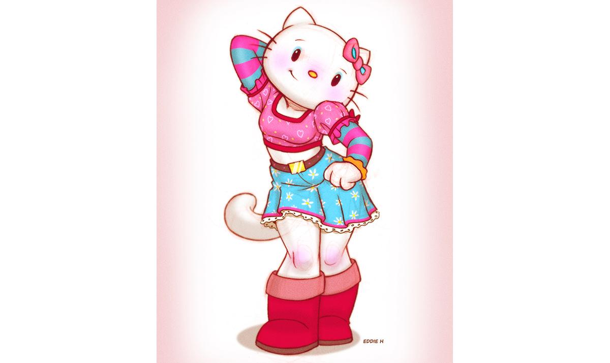 Curvy Hello Kitty