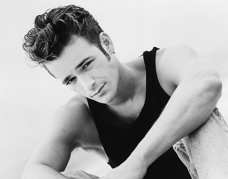 Luke Perry as Dylan McKay in Beverly Hills, 90210