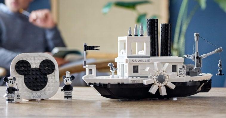 LEGO Steamboat Willie set