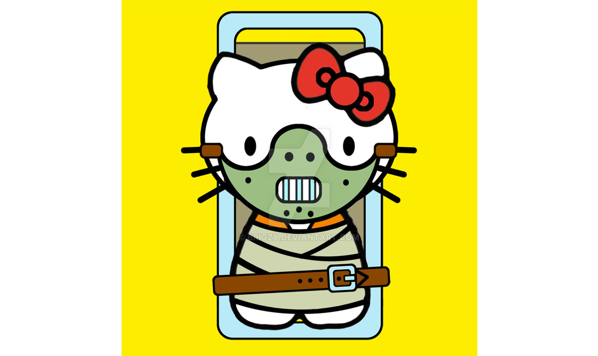 Hello Kitty as Hannibal Lecter