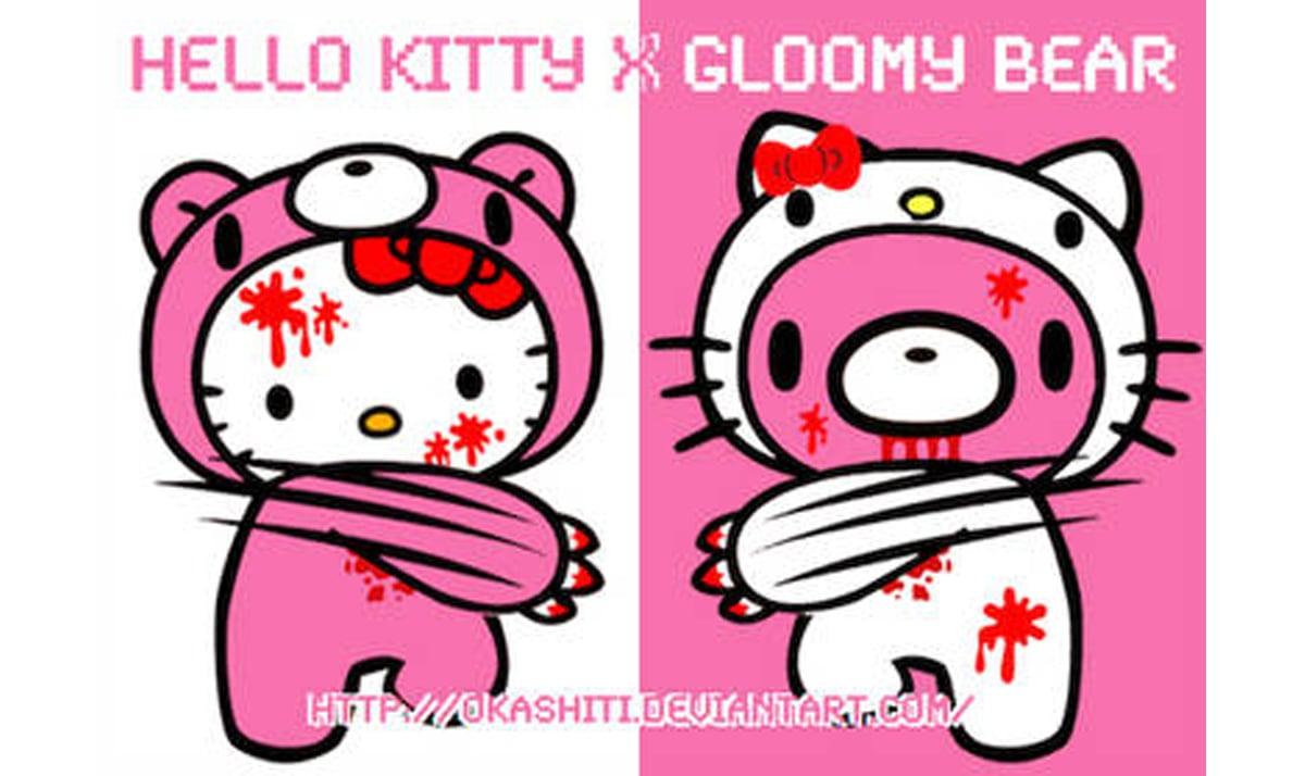 Hello Kitty x Gloomy Bear