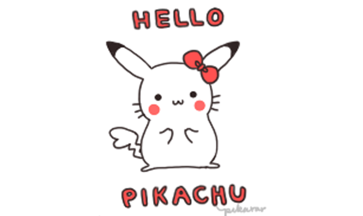 Hello Kitty x Pikachu