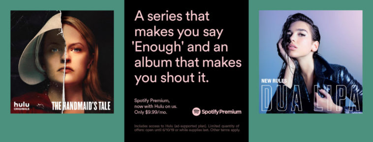 Spotify Premium subscribers now get Hulu for free 15
