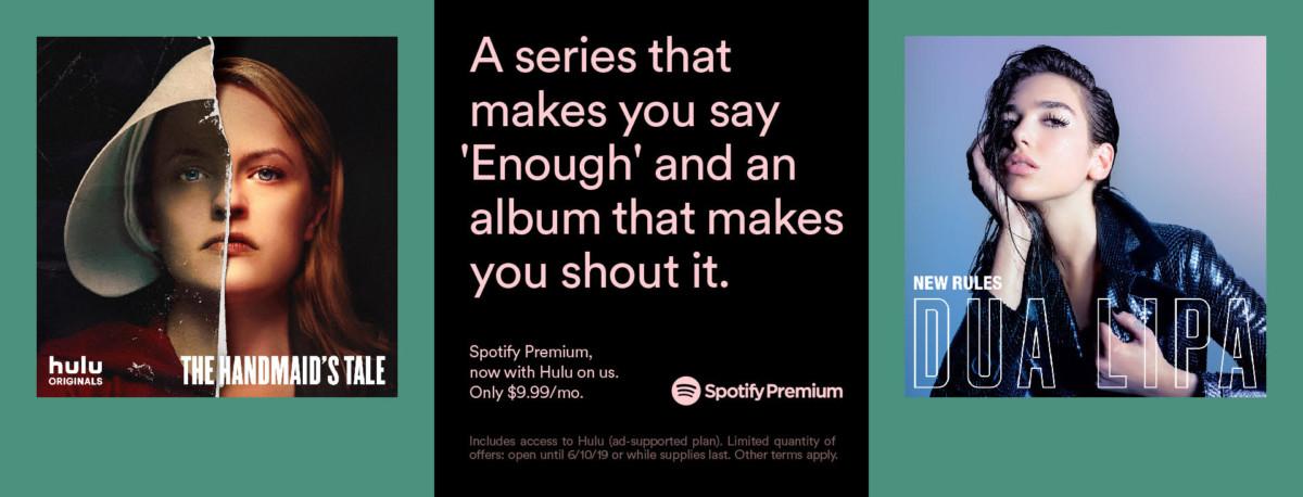 hulu spotify premium 364x205 - Spotify Premium subscribers now get Hulu for free